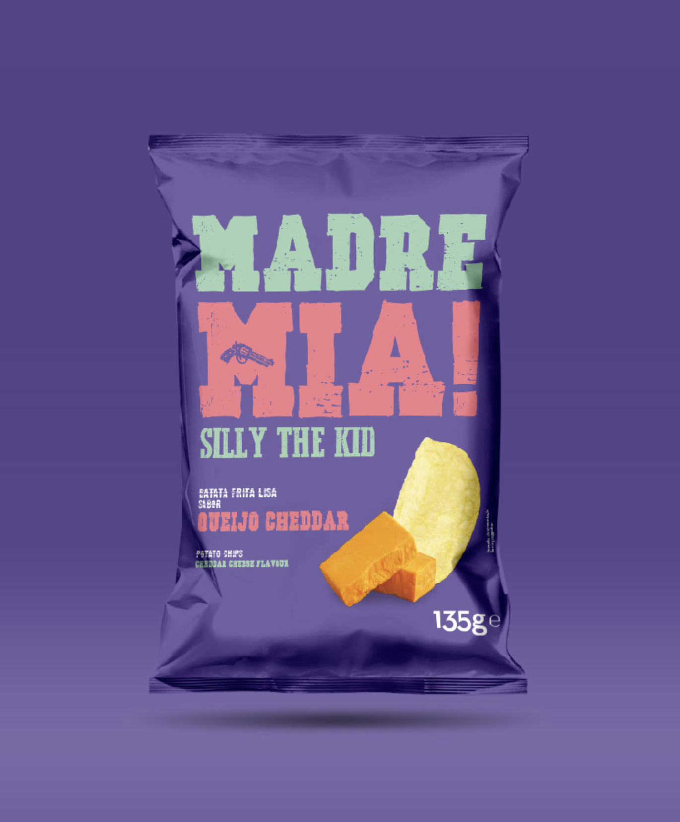Madre Mia continente chips packaging