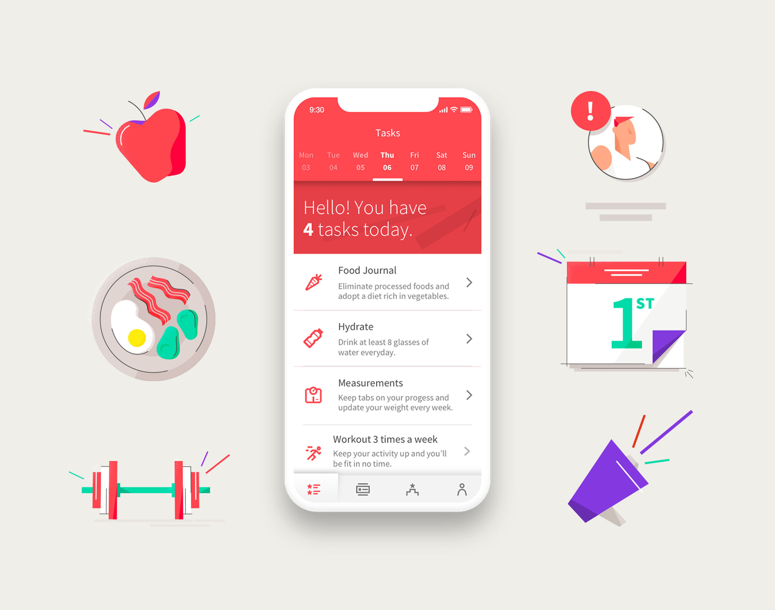 Wodify Rise mobile app