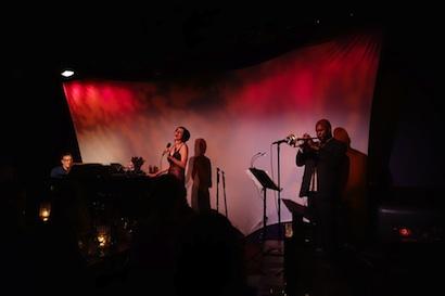 Frank Ponzio, Rosemary Loar and Waldron Ricks at The Metropolitan Room, NYC