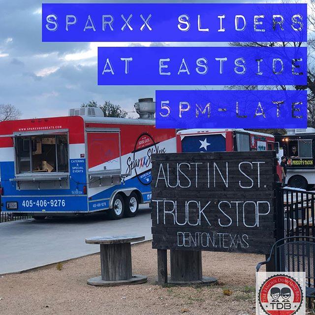 Open at @eastsidedentontx and Austin St. Truck Stop!! Let's get it @dntntx @discoverdenton @whenindenton @dentonfoodporn @dentonfoodblog @bestfooddallas