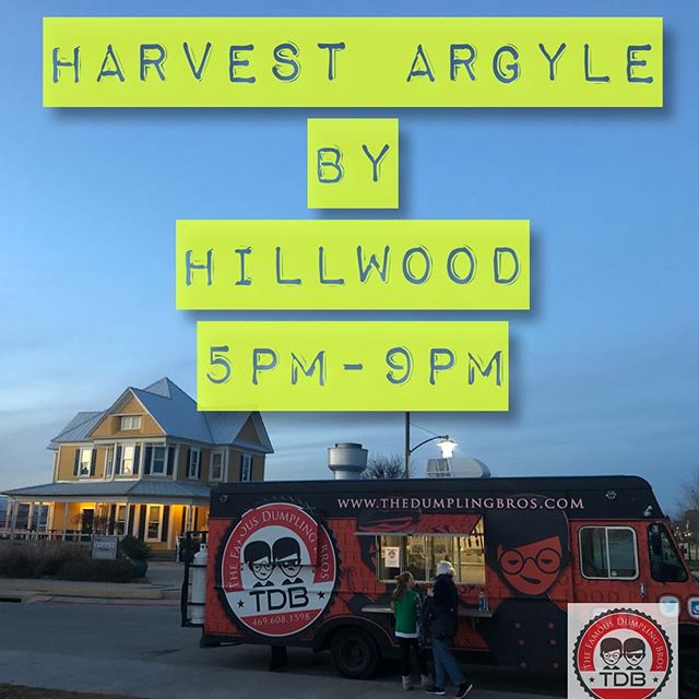 Let's GO @keepargylebeautiful we are at @harvesttexas until 9pm!! Don't miss out 🖐 made 🥟🥟🥟🥟👈👈