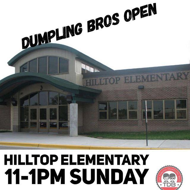 @dumplingbros #foodtruck is open at Hilltop Elementary in @keepargylebeautiful  Argyle, TX! Come see us and check out their event! 🥟🥟🥢🥢 #sundayfunday #sundayfood #foodtrucklife @argylemiddletx @argyleinsider @argylefirefighters