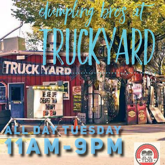 We will be at @truckyarddallas ALL DAY - Tuesday 12/18 from 11am-9pm! C'mon out for #lunch & #dinner in @bestfooddallas @dallassocial @dallaseatandplay @dallaslovelist @dallasfoodnerd @dallasfoodfreak @dallas_foodies @dallasfoodieblog