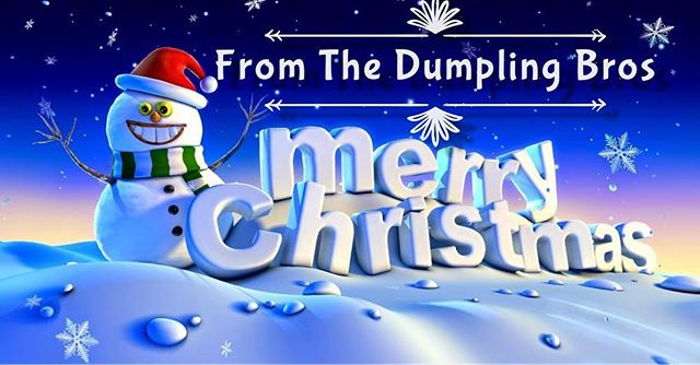 Merry Christmas 🎄🎁 Thank you to all of our valued customers and fans. We L❤️VE you ALL!! #foodie #foodtruck #koreanfood #dumplings #christmasday