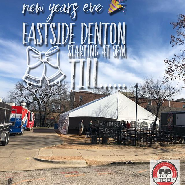 We are getting ready for the Biggest #nye BASH of the century!! Located at @eastsidedentontx and we will start serving at 5pm until we sell out!!! @discoverdenton @dentoning @dentonmsa @dntntx @dallaseatandplay @dentontraveler @whenindenton @dentonfoodporn #newyearseve #dentontx #partysafe #2019