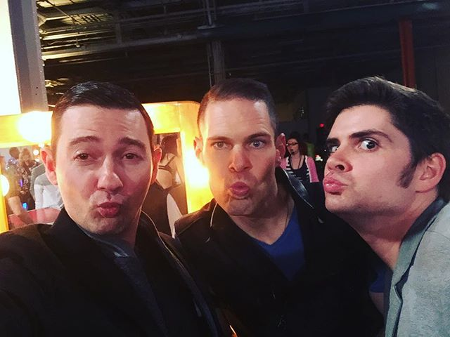 """#tbt us doing our best Blue Steel backstage prepping for our first Judge's Round performance at the @dolbytheatre! Spoiler Alert: we received a full standing ovation for our performance of Puccini's """"Nessun dorma""""! #vox #manband #voxsings #zoolander #bluesteel #opera #nessundorma #dolbytheatre"""