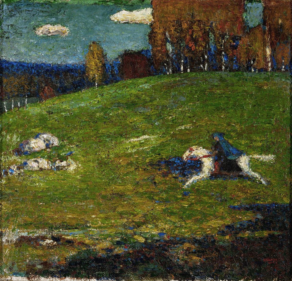 Kandinsky - Der Blaue Reiter [The Blue Rider] (1903)