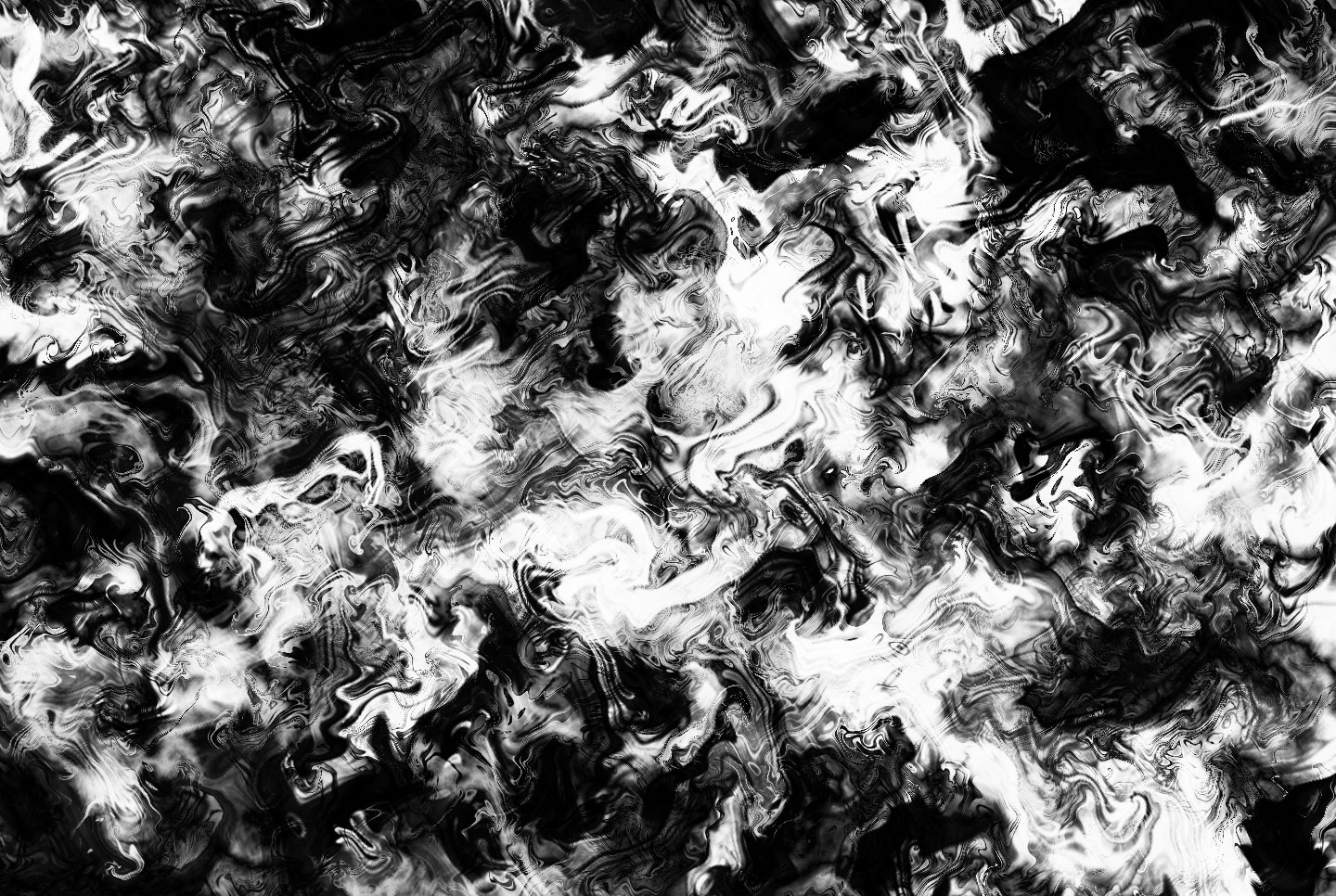A similar pattern made in Photoshop with layers of Difference cloud and generated wave effects