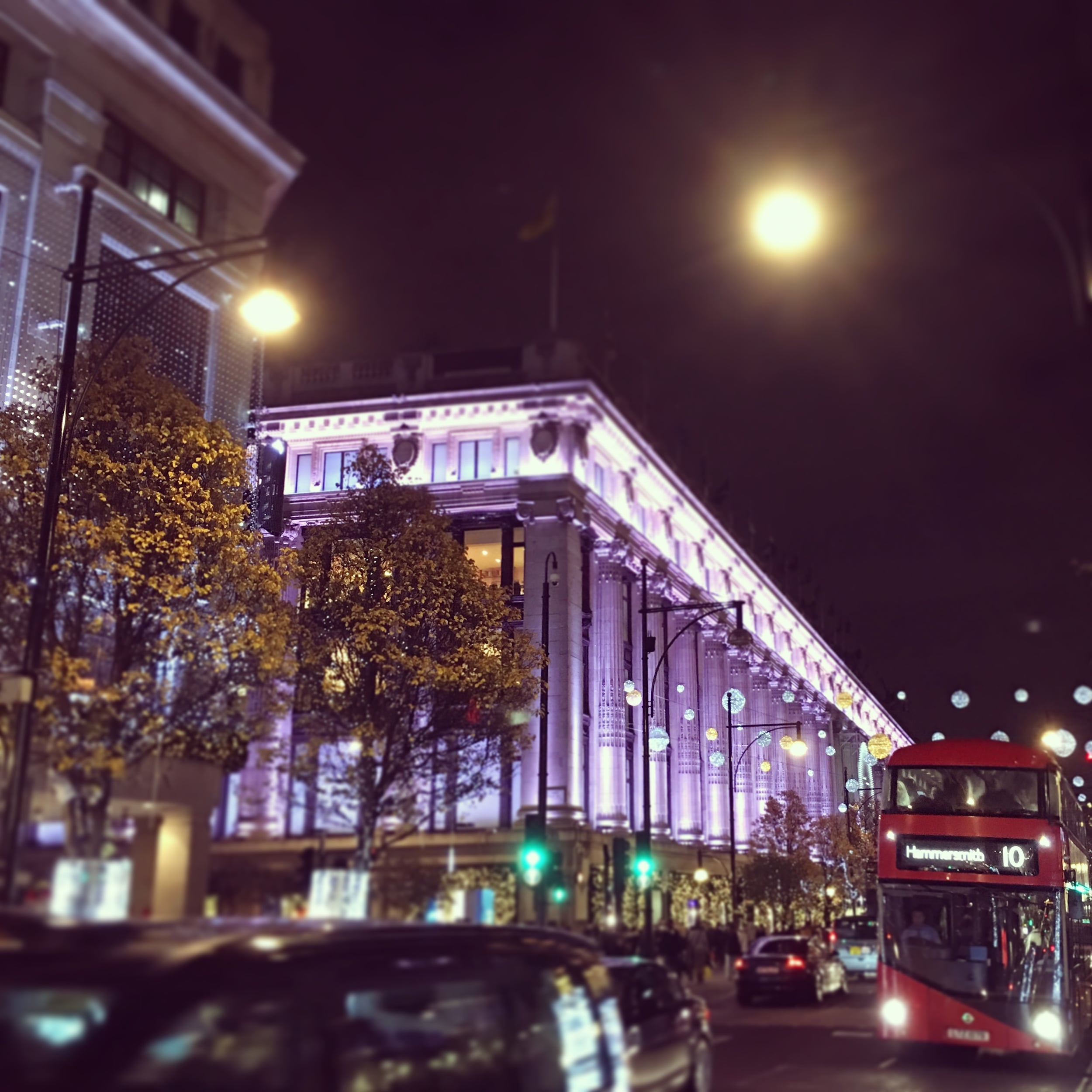 Selfridge's on Oxford Street
