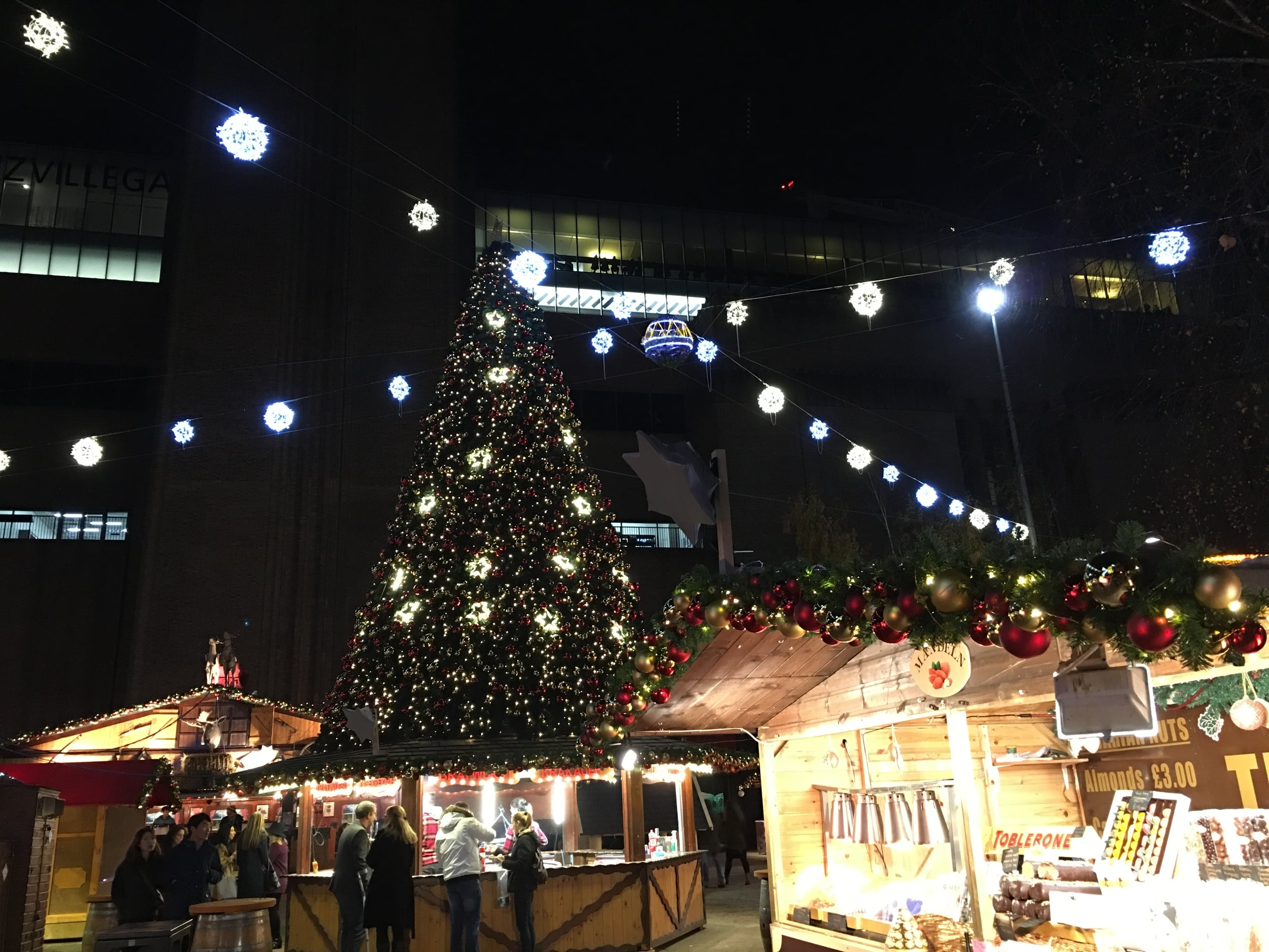 Christmas Market in South Bank