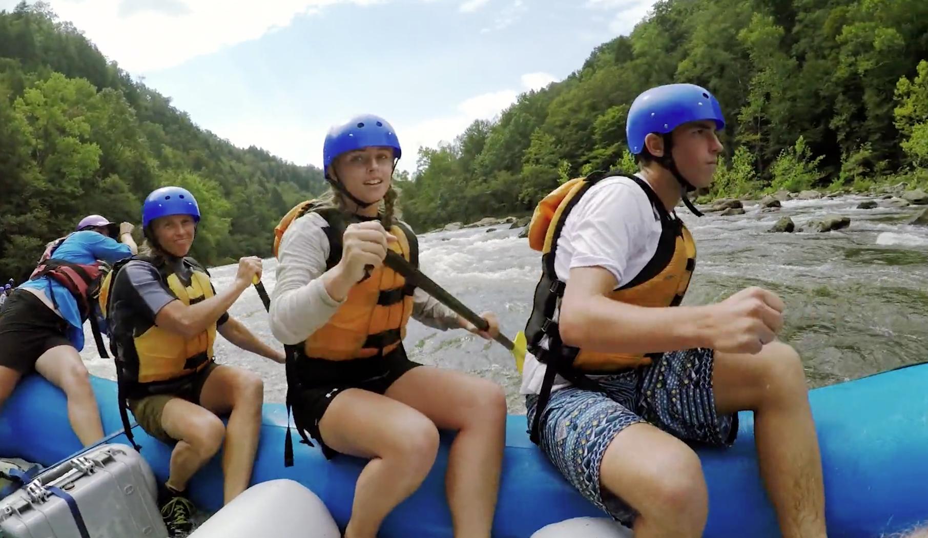 Ivey - WV Tourism Rafting