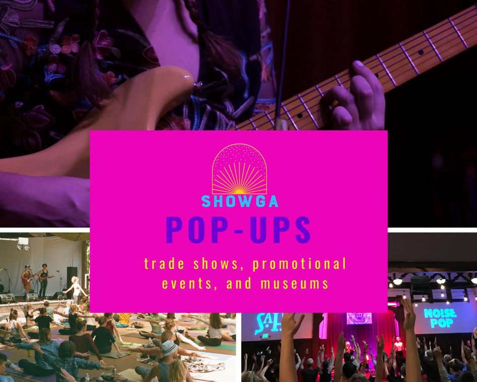 Showga Pop-Ups