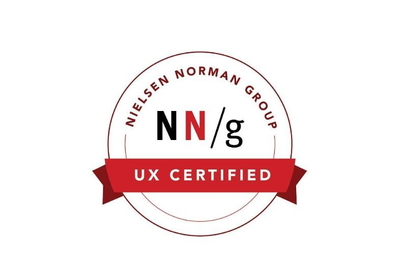 UXC# 1019970 (10/13/2017)   Coursework Completed: * Effective Ideation Techniques for UX Design * Facilitating UX Workshops * Journey Mapping to Understand Customer Needs * Persuasive Web Design * Usability Testing ( https://www.nngroup.com/ux-certification/verify/ )