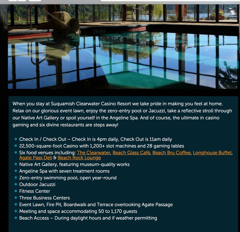 Clearwater Resort amenities.png