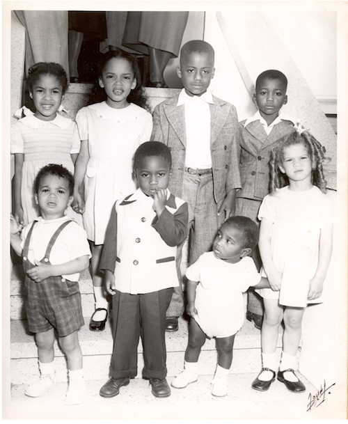 "The ""original seven"" children of Jack and Jill/San Francisco's founding group: Carolyn Bonner, Noah Griffin, Gilbert Griffin, Diane Hambrick, Edward Hambrick, Gail Poole, and Mary Francis Howard."