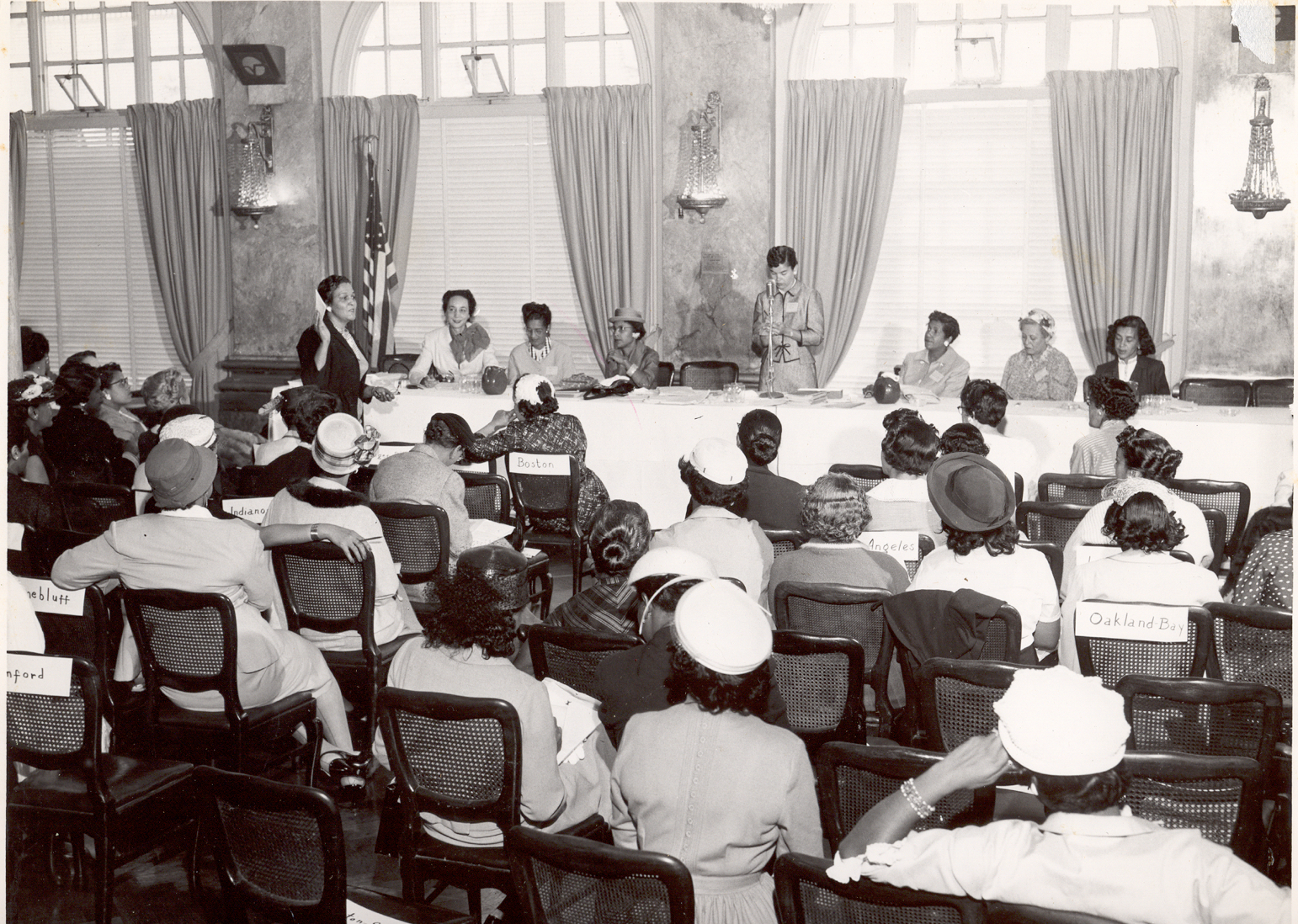 First Jack & Jill Session in San Francisco, 1957 - Plenary Session