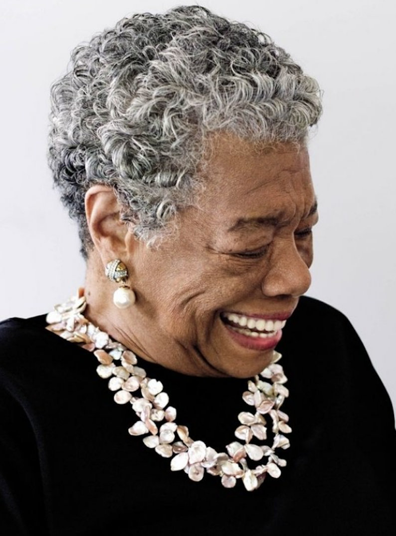 MAYA ANGELOU - Author Poet, ActivistMaya Angelou, born April 4, 1928 in St. Louis, Missouri, was an American author, actress, screenwriter, dancer, poet and civil rights activist best known for her 1969 memoir, I Know Why the Caged Bird Sings. The memoir made literary history as the first nonfiction best-seller by an African-American woman.The book sprung from a suggestion by friend and fellow writer James Baldwin, who urged Angelou to write about her life experiences, I Know Why the Caged Bird Sings is a memoir of Angelou's teen and young adult years . The poignant story made literary history as the first nonfiction best-seller by an African-American woman. It made Angelou an international star and remained on The New York Times' paperback nonfiction best-seller list for two years — the longest-running record in the chart's history.One of her most famous works, 'On the Pulse of Morning' was another of Angelou's critical successes. She wrote this poem especially for President Bill Clinton's inaugural ceremony in January 1993, where she recited it herself, which has occurred on only one other occasion in presidential history. Angelou went on to win a Grammy Award for the audio version of the poem. She received a litany of other honors throughout her career, including two NAACP Image Awards in the outstanding literary work, in 2005 and 2009.Following her death on May 28, 2014, President Barack Obama issued a statement about Angelou, calling her