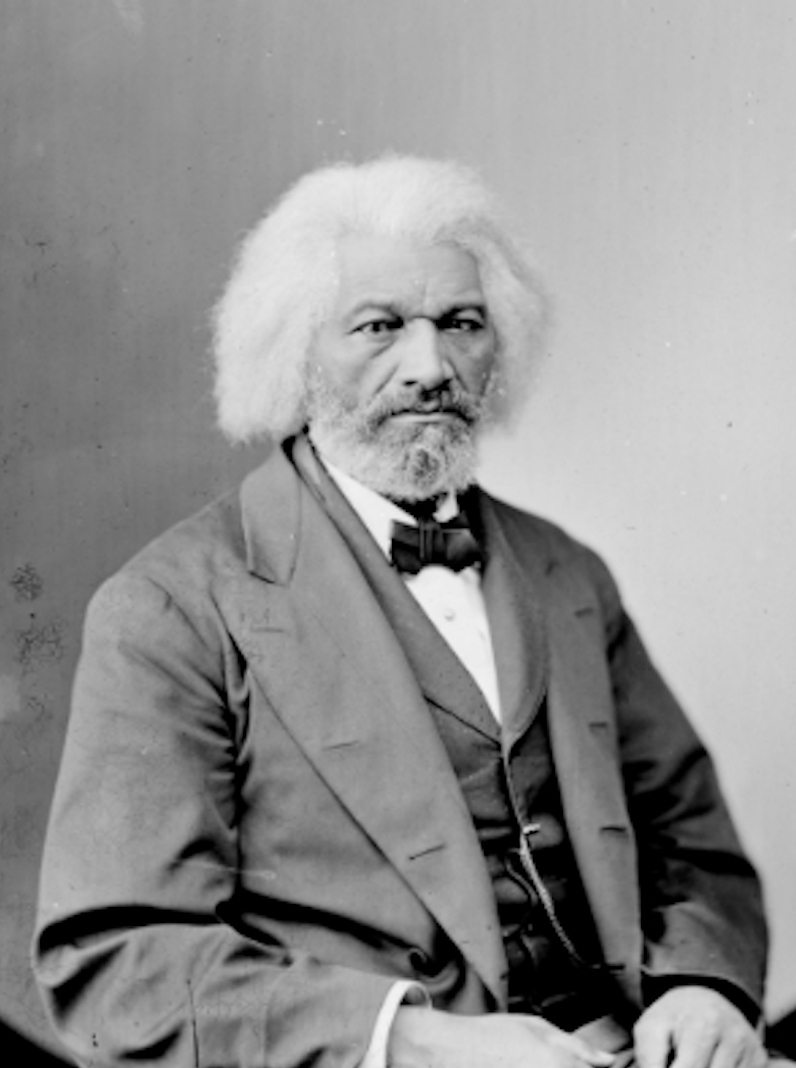 Frederick Douglass - Famed 19th-century author and orator Frederick Douglass was a human rights leader in the anti-slavery movement and the first African-American citizen to hold a high U.S. government rank.He was born into slavery sometime around 1818 in Talbot County, Maryland and became one of the most famous intellectuals of his time, advising presidents and lecturing to thousands on a range of causes, including women's rights and Irish home rule.Despite a ban on teaching slaves to read and write, a slaveholder taught Douglass the alphabet when he was around 12. He read newspapers avidly and sought out political writing and literature. He shared his knowledge with other enslaved people, teaching other slaves to read the New Testament at a weekly church service.Douglass began producing some abolitionist newspapers. He soon became a regular on the abolitionist lecture circuit and one of the most famous Black men in the country. In 1863, Douglass met with President Abraham Lincoln regarding the treatment of black soldiers, and later with President Andrew Johnson on the subject of black voting rights. Slavery was abolished in 1865 following the Civil War.In 1872, Douglass was nominated for vice-president, marking the first time an African American appeared on a presidential ballot.Douglass wrote autobiographies eloquently describing his experiences, including the well-known Narrative of the Life of Frederick Douglass, an American Slave. The book was a best-seller in the United States and was translated into several European languages.