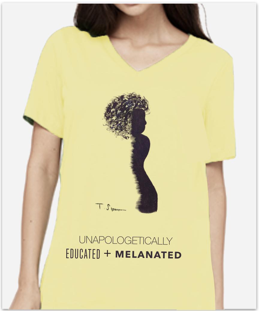Shown: American Apparel Jersey V-Neck T-shirt | 100% Ringspun Cotton | Size L