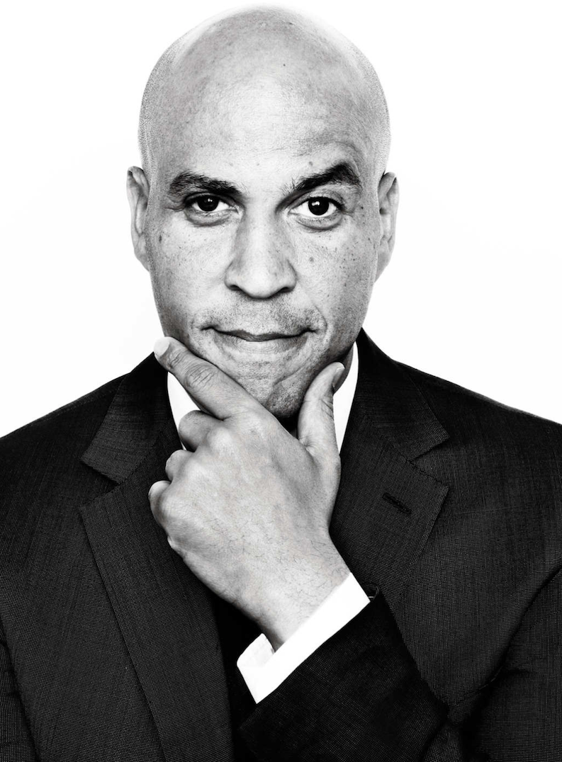 CORY BOOKER - Cory Anthony Booker is an American politician who was elected as a Democrat to the U.S. Senate in 2013 and began representing New Jersey in that body later in the year. Booker was mayor of Newark from 2006–13 and later became the first African American from New Jersey to serve in the Senate.Booker was born in Washington, D.C. on April 27, 1969 to parents who were executives at IBM. The family relocated to New Jersey later in Booker's life. He went on to attend Stanford University, where he studied political science as an undergraduate, and where he earned a master's degree in sociology two years later.A Rhodes scholarship recipient, Booker attended the University of Oxford, where he received a bachelor's degree in history in 1994. He then attended Yale Law School, earning a doctorate in jurisprudence in 1997.After working for the Urban Justice Center in New York City, Booker ran for a seat on the Newark City Council in 1998, and he surprised many by defeating a longtime incumbent. After assuming office, Booker sought to combat an epidemic of drug abuse, and he took up residence in one of Newark's most crime-afflicted areas.In 2002 he ran for mayor of the city, but was defeated; you may have seen the race depicted in the acclaimed documentary Street Fight. A second bid, in 2006, however, was successful for Booker. As mayor, he garnered national attention for initiatives on gun control and violence abatement, among other measures. After Frank Lautenberg died in 2013, a special election to fill his U.S. Senate seat was held, and Booker easily won.As senator, Booker became known for his efforts at bipartisan cooperation, although he often adopted liberal causes. He was a vocal supporter of same-sex marriage, and he called for an increase in the federal minimum wage. He also supported tax increases for the wealthy.Booker co-sponsored legislation that reformed the criminal justice system, and the bill was signed into law in 2018. And, in case you haven't heard, Booker has since announced his candidacy for the Democratic presidential nomination in 2020.