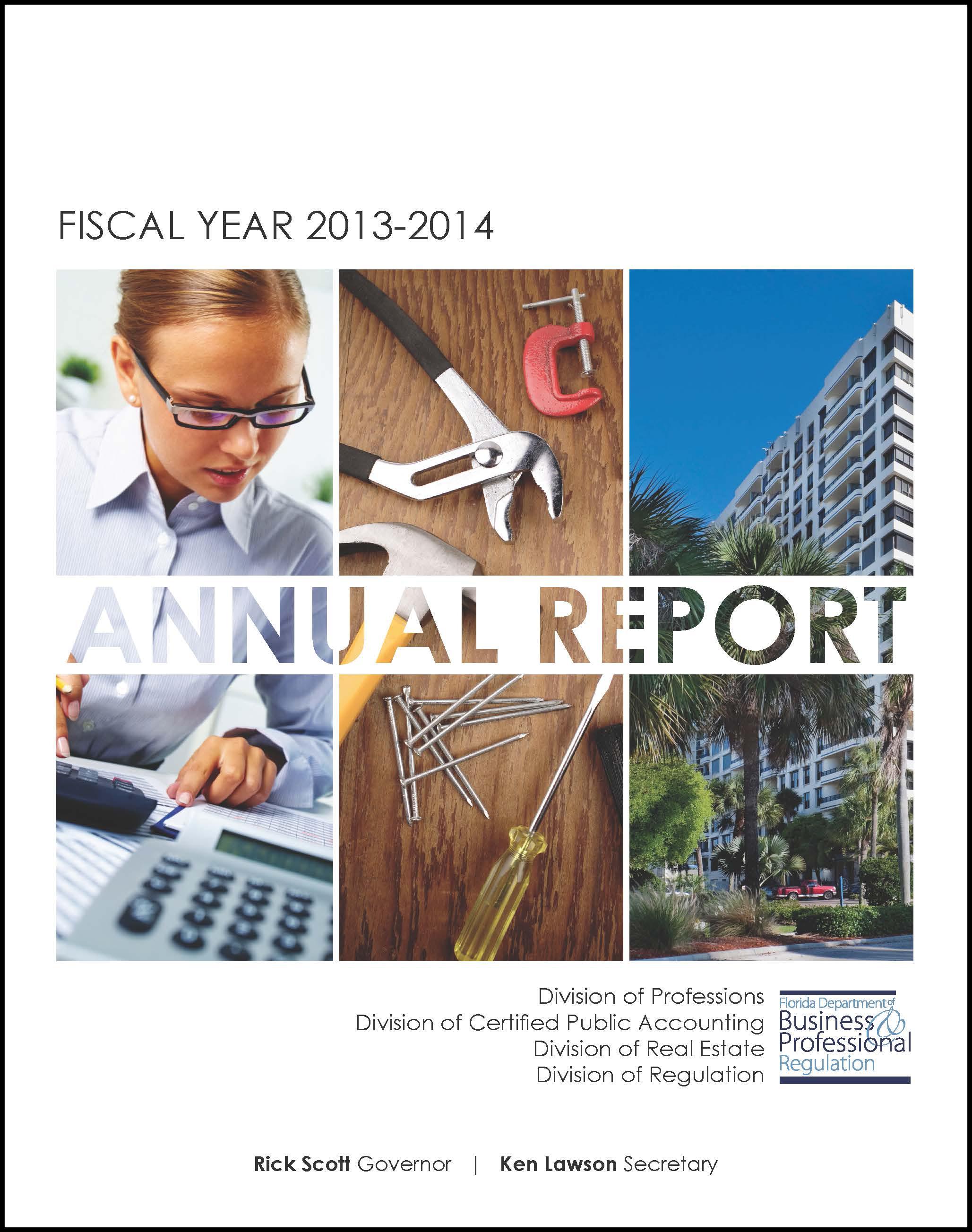 PRO-CPA-DRE-REG Annual Report 13-14 Cover.jpg