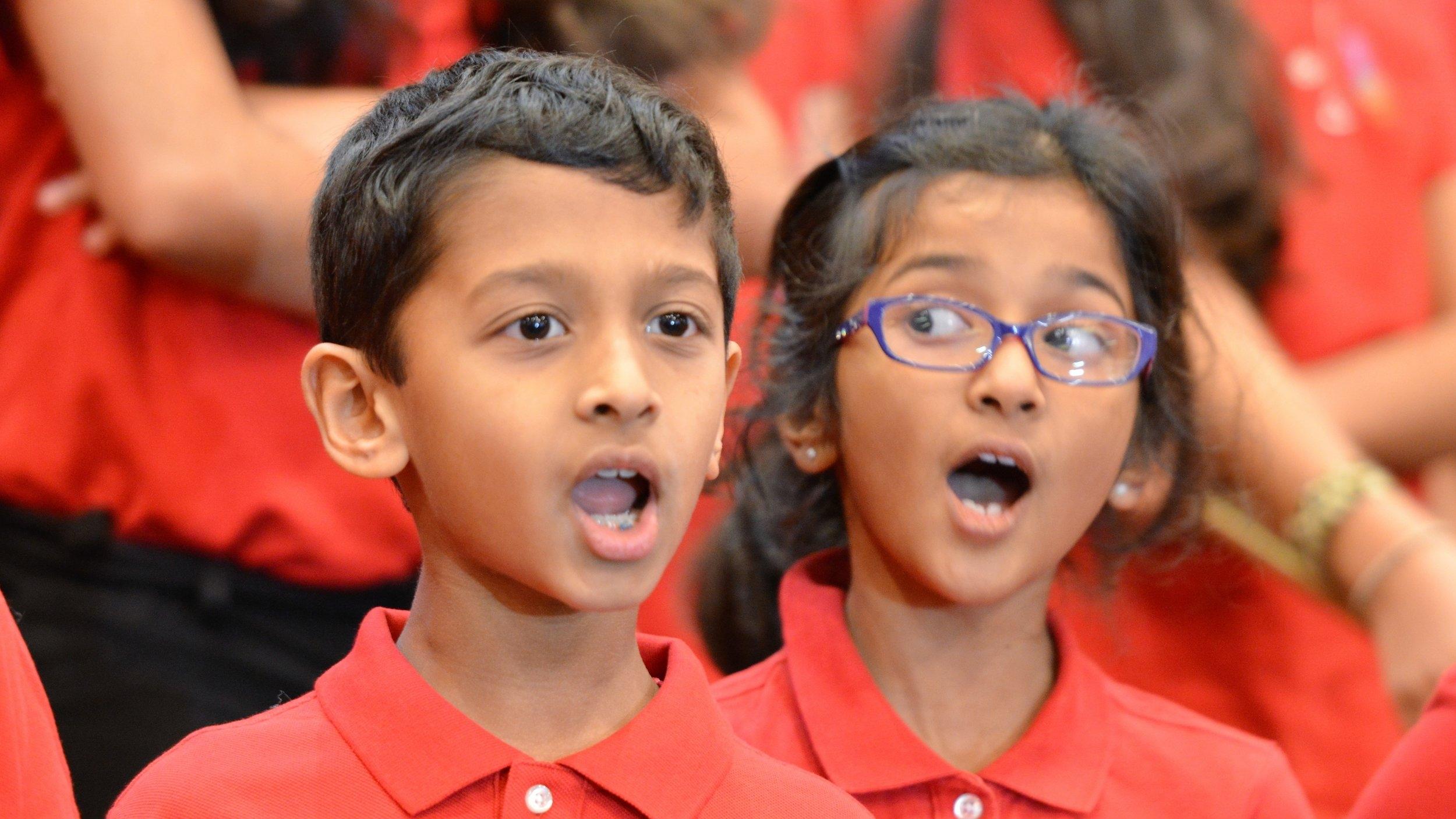 Intermediate Choir Singers