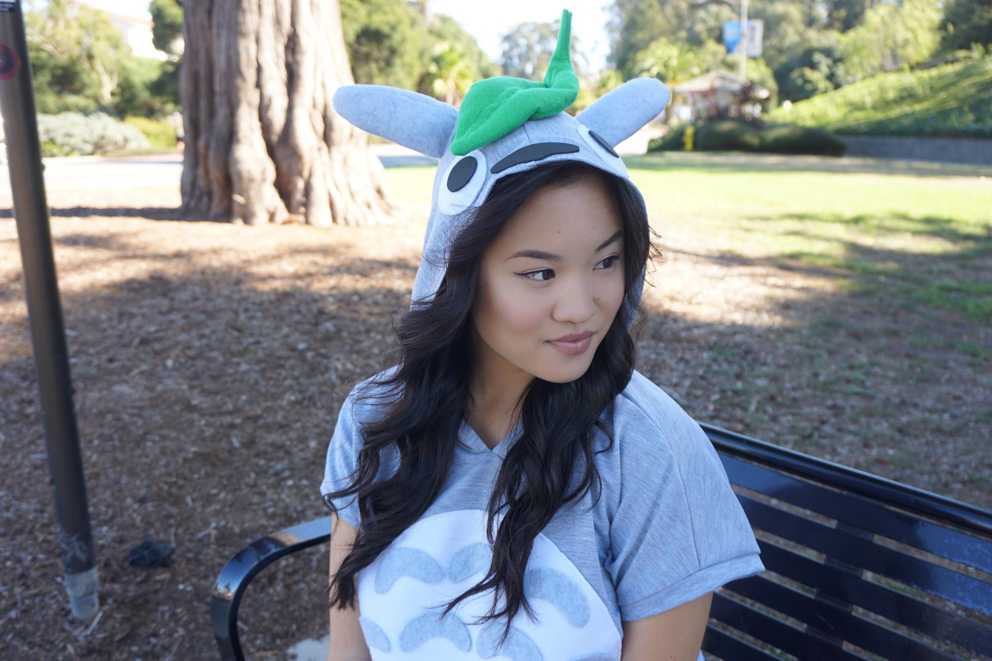 DIY Totoro Halloween Costume Tutorial by Broke and Cooking - www.brokeandcooking.com