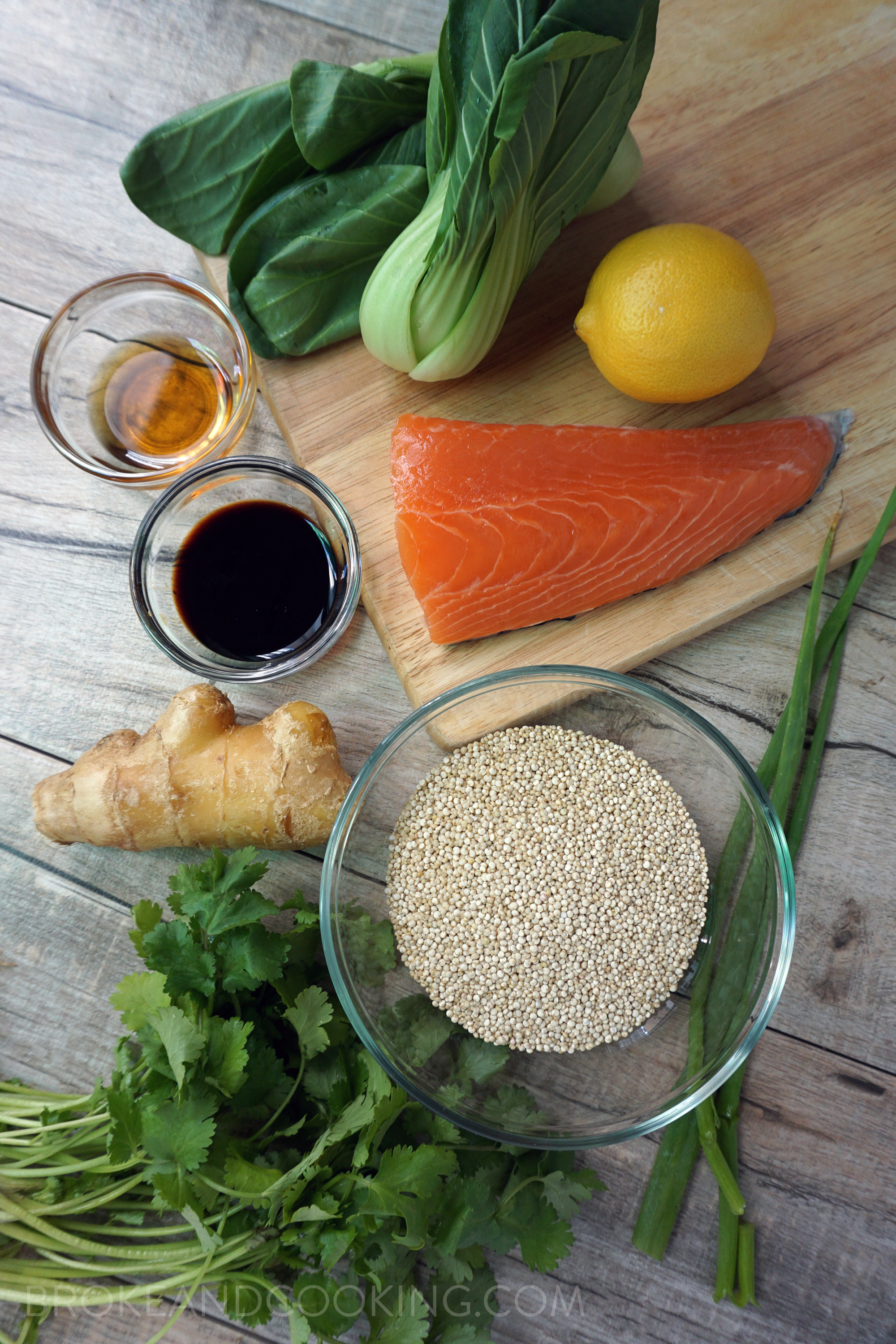 Simple, delicious ingredients for a protein-packed meal