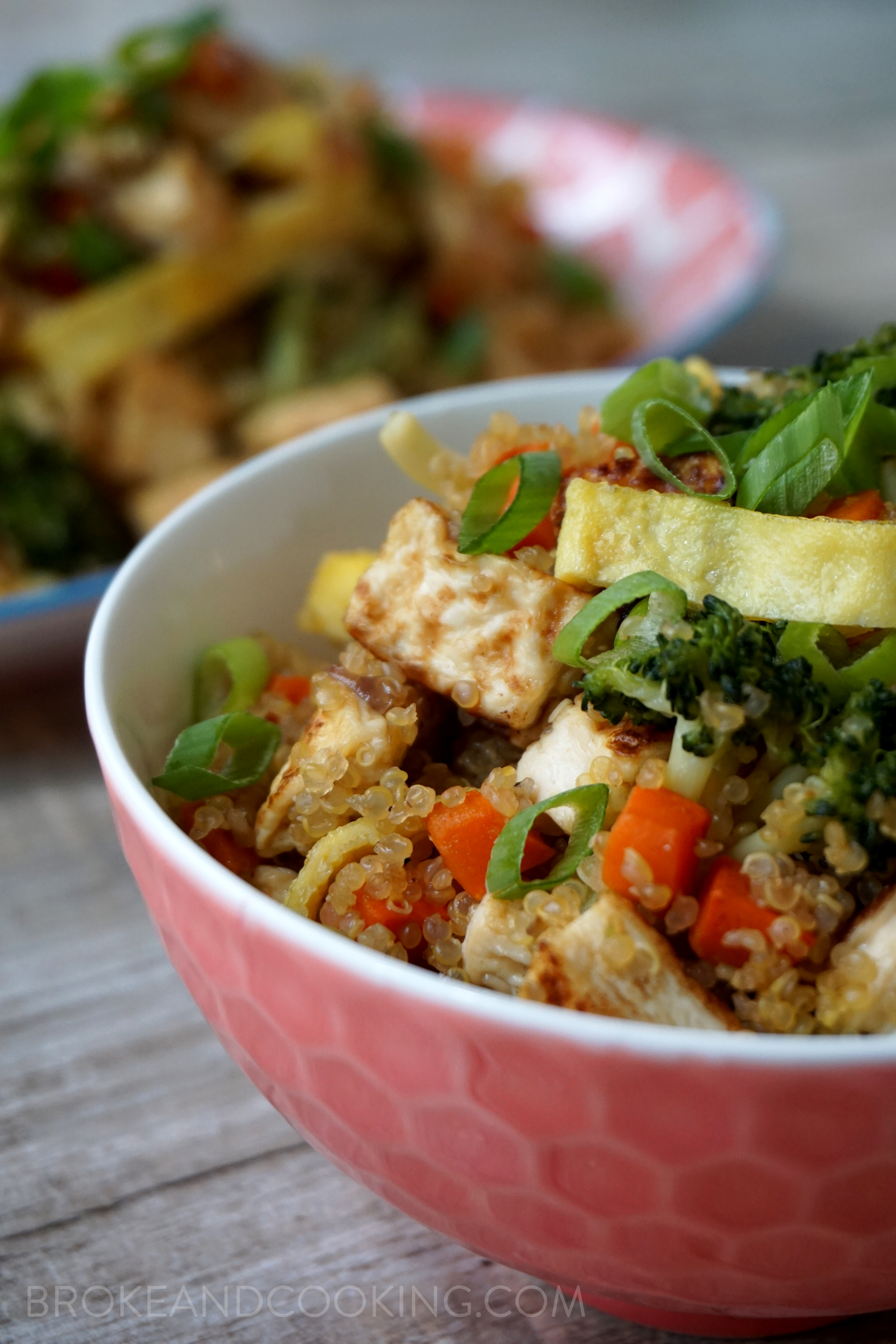 Broke and Cooking Quinoa Fried Rice 24