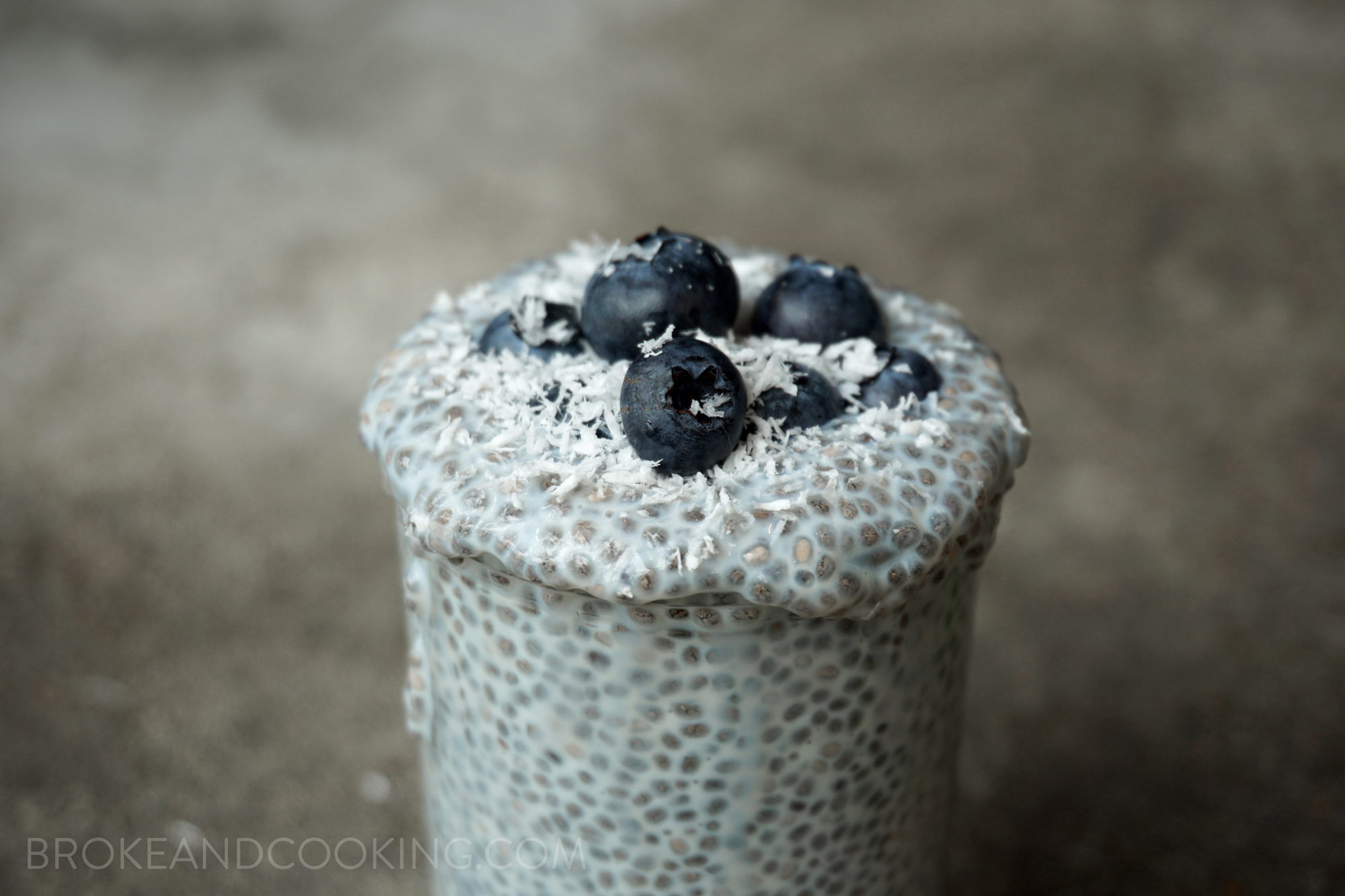 Broke and Cooking Mint Chocolate Chia Seed Pudding 8