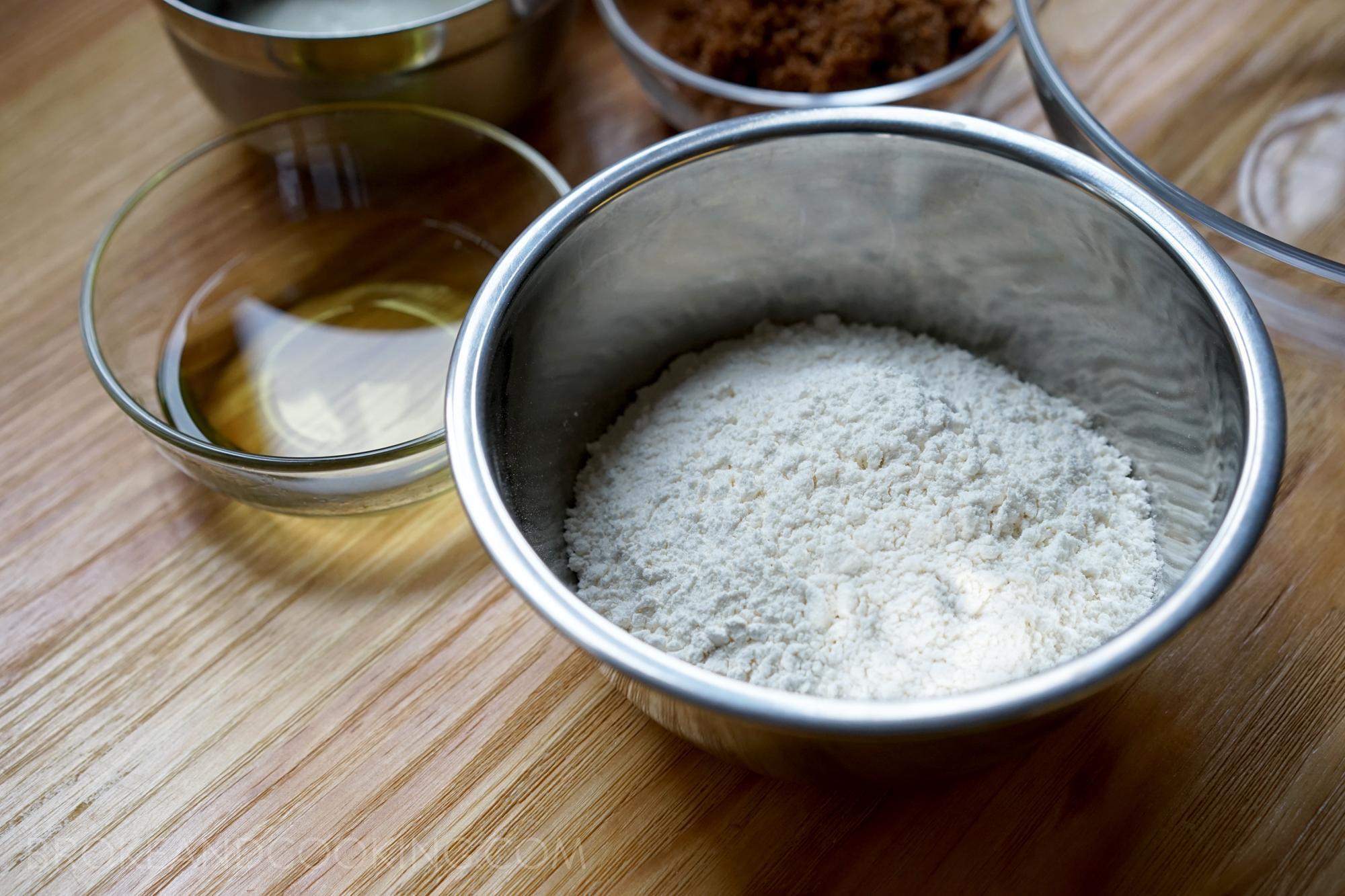 Oil & flour