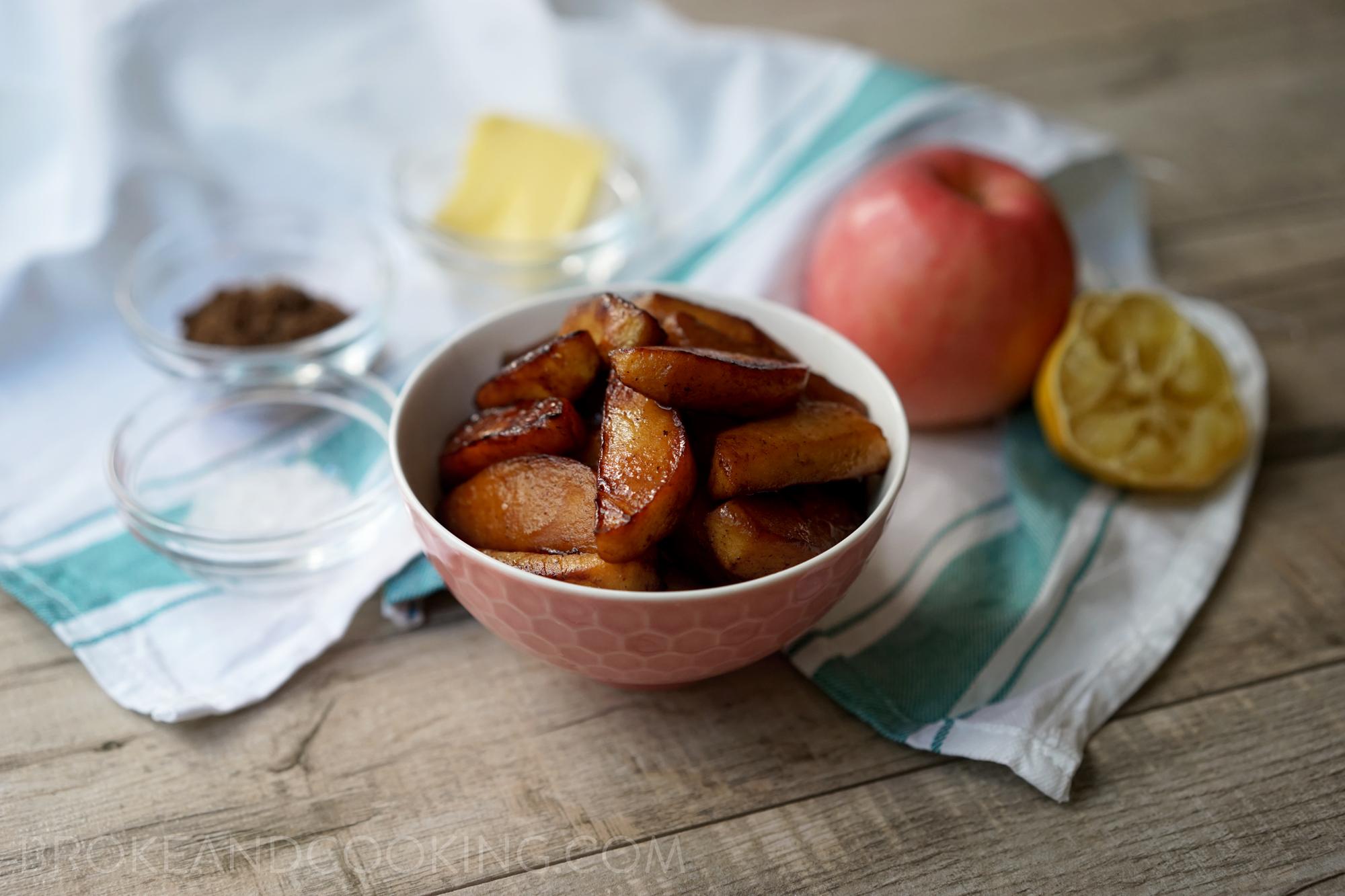 Cinnamon spiced apples!