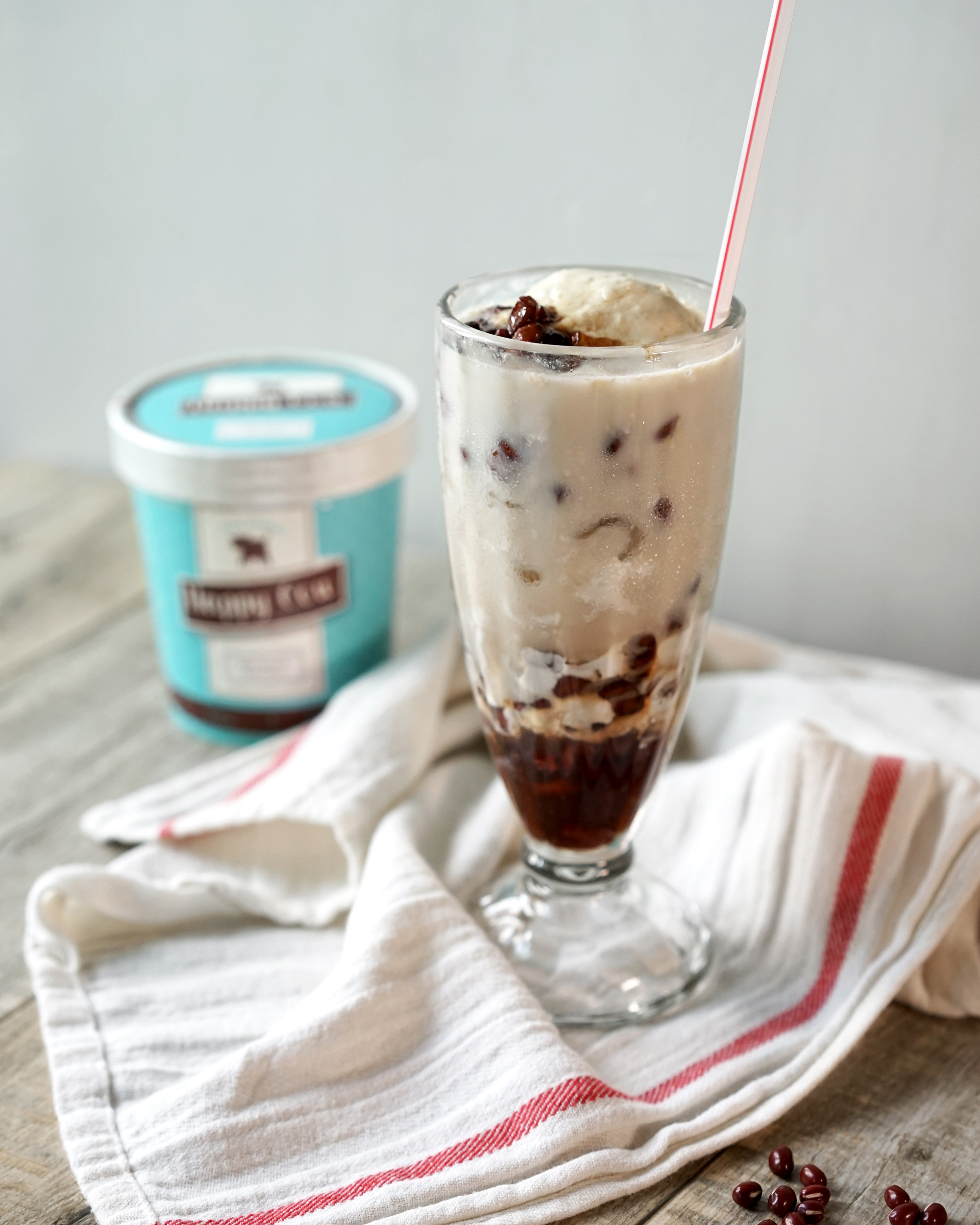 Dairy Free Red Bean Ice Recipe by Broke and Cooking - www.brokeandcooking.com