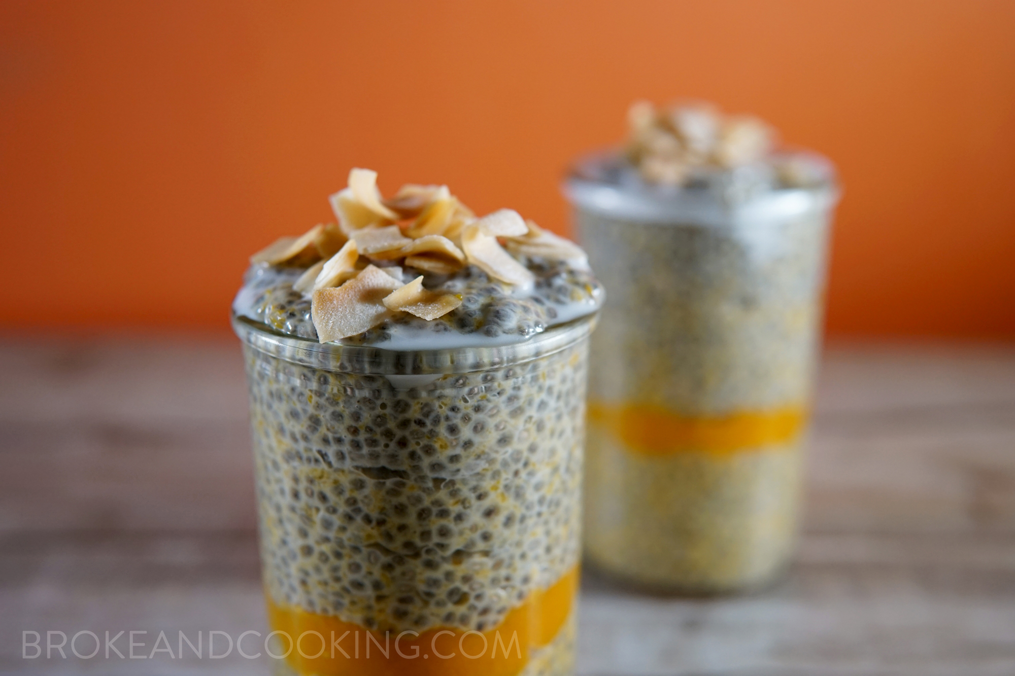 Pumpkin Pie Chia Pudding Recipe by Broke and Cooking