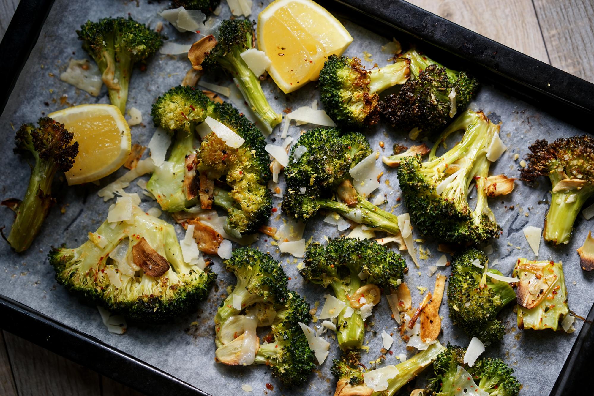 Crack Broccoli Recipe by Broke and Cooking - www.brokeandcooking.com