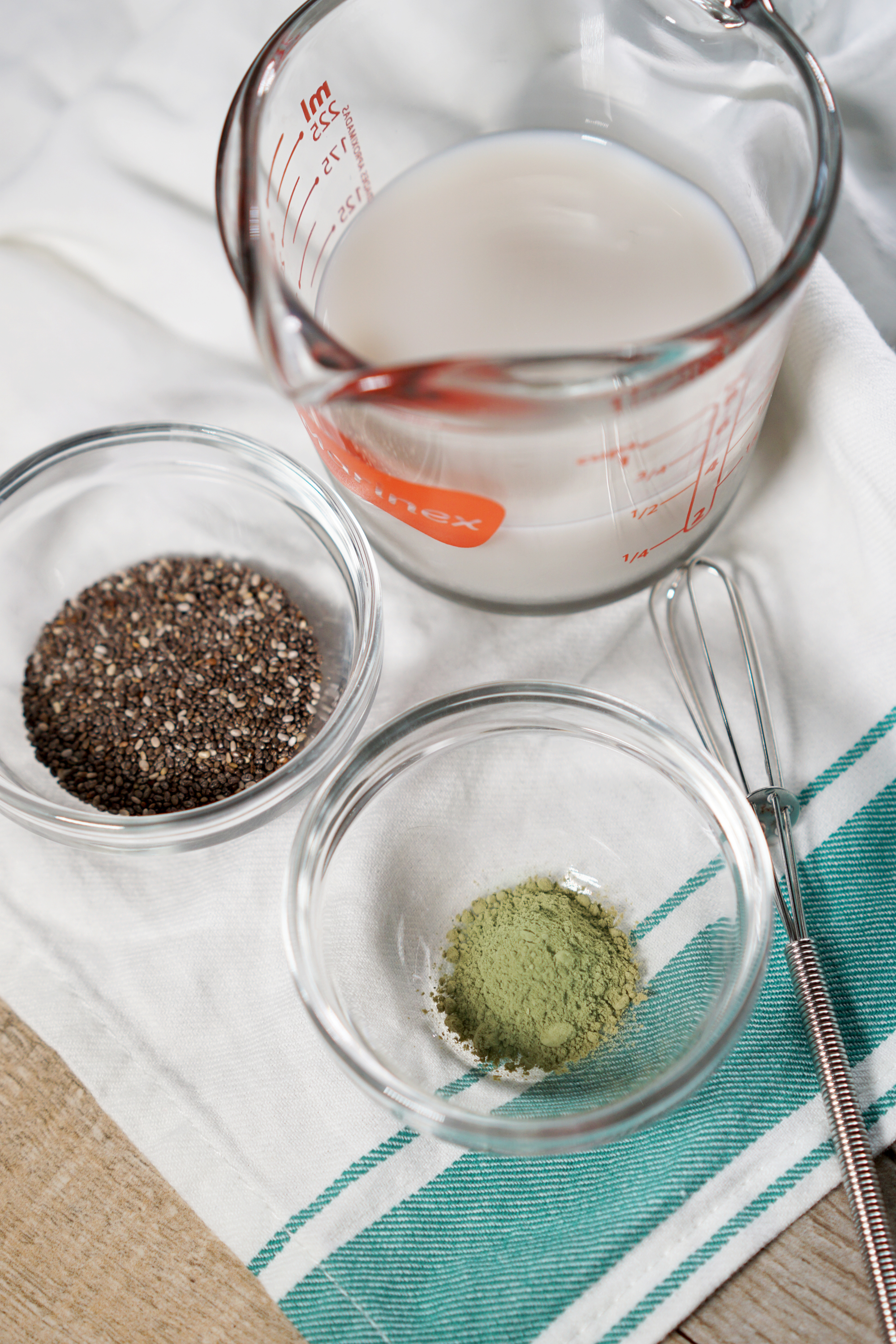 Matcha Chia Pudding Recipe by Broke and Cooking - www.brokeandcooking.com