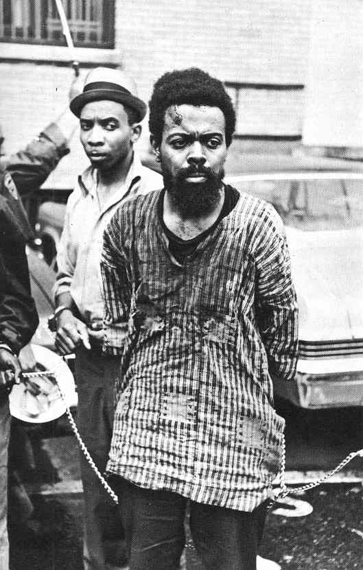 Photograph of Amiri Baraka (Unknown Photographer)