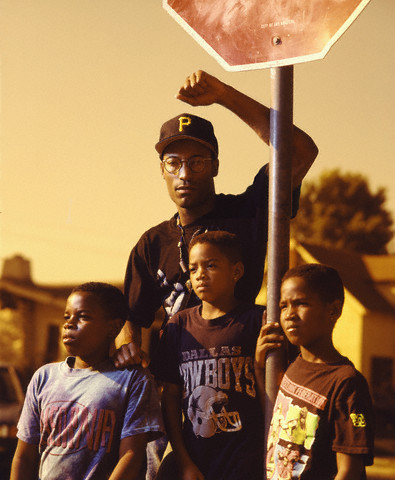 John Singleton. Photograph by Aaron Rapoport (1991)