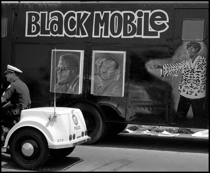 Photograph by Dennis Stock, Watts (1968)