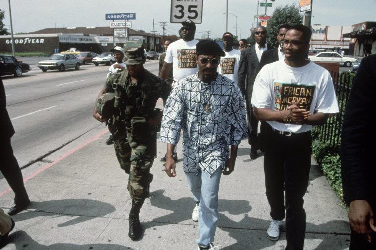 John Singleton in Los Angeles. Photograph by Eli Reed (1992)