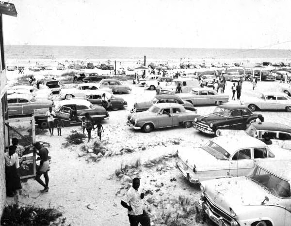 Photograph of Butler Beach, Anastasia Island, Florida (1950s) Courtesy of Florida Memory
