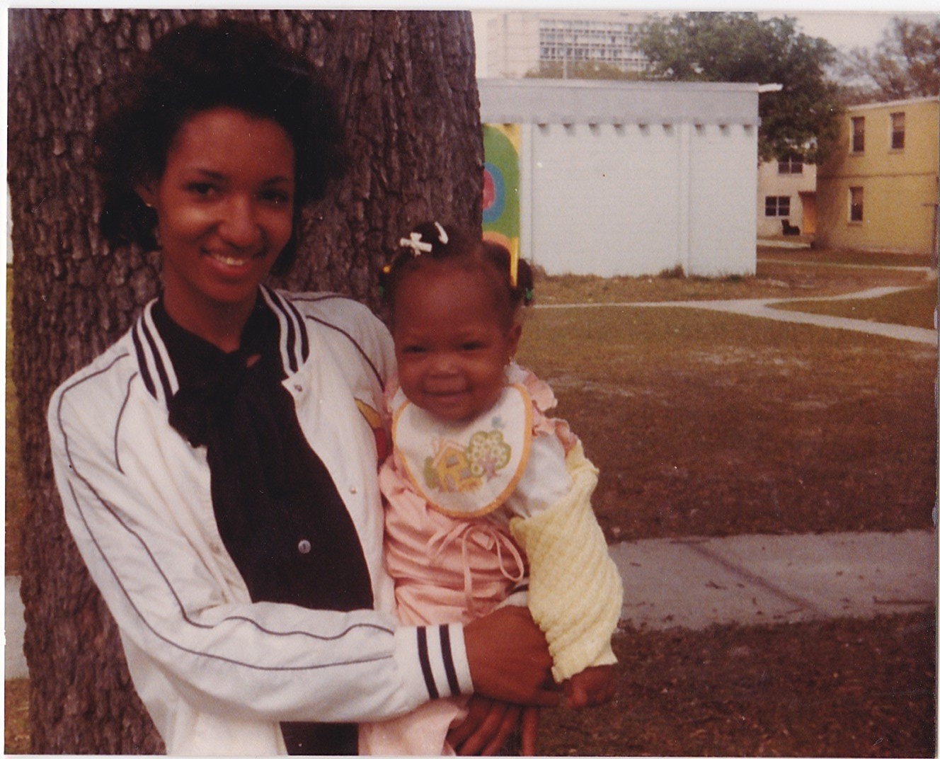 April 1983,The Blodgett Homes in Jacksonville, Florida. From the personal archive of Renata Cherlise