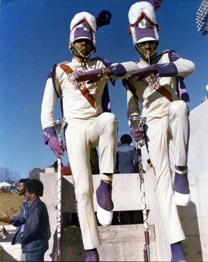 Morris Brown College drum majors.