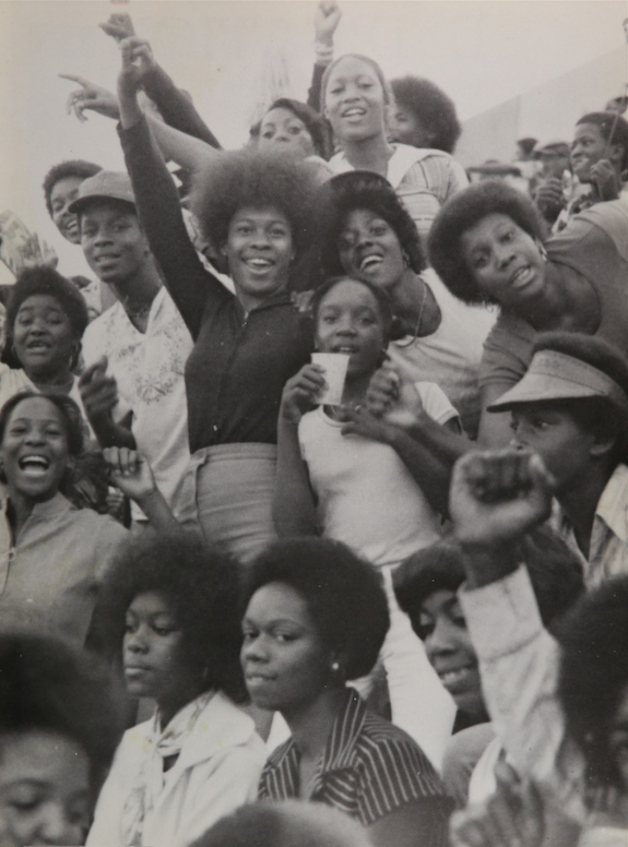 "Fulton High (1970) in Atlanta, Georgia. ""The Class of Blackness"" yearbook project"