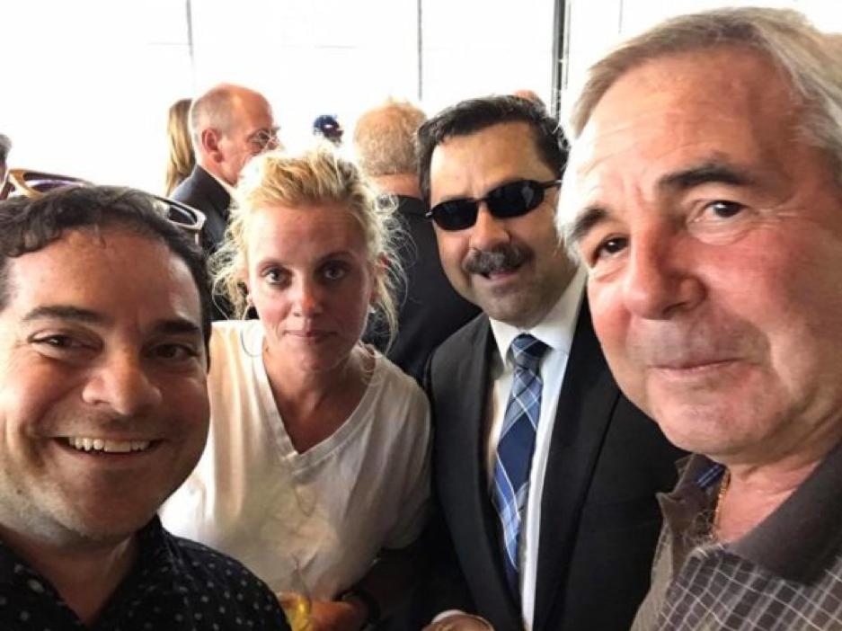 Asbury Park Democrat Chairman Giuseppe Joe Grillo, Deputy Mayor Amy Quinn, Tommy DeSeno and Mayor John Moor. photo via facebook