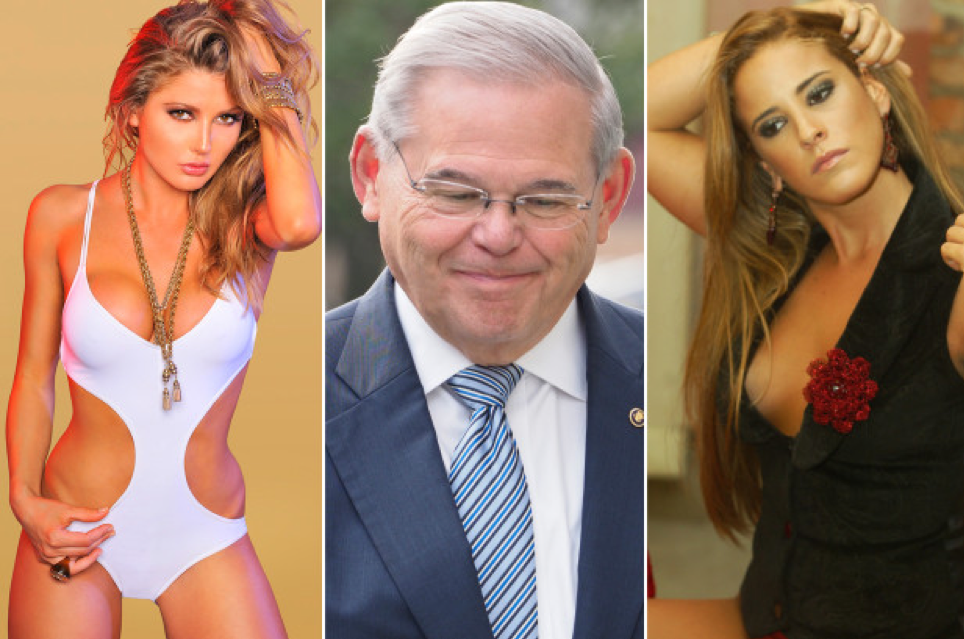 Svitlana Buchyk, Bob Menendez and Juliana Lopes Leite.