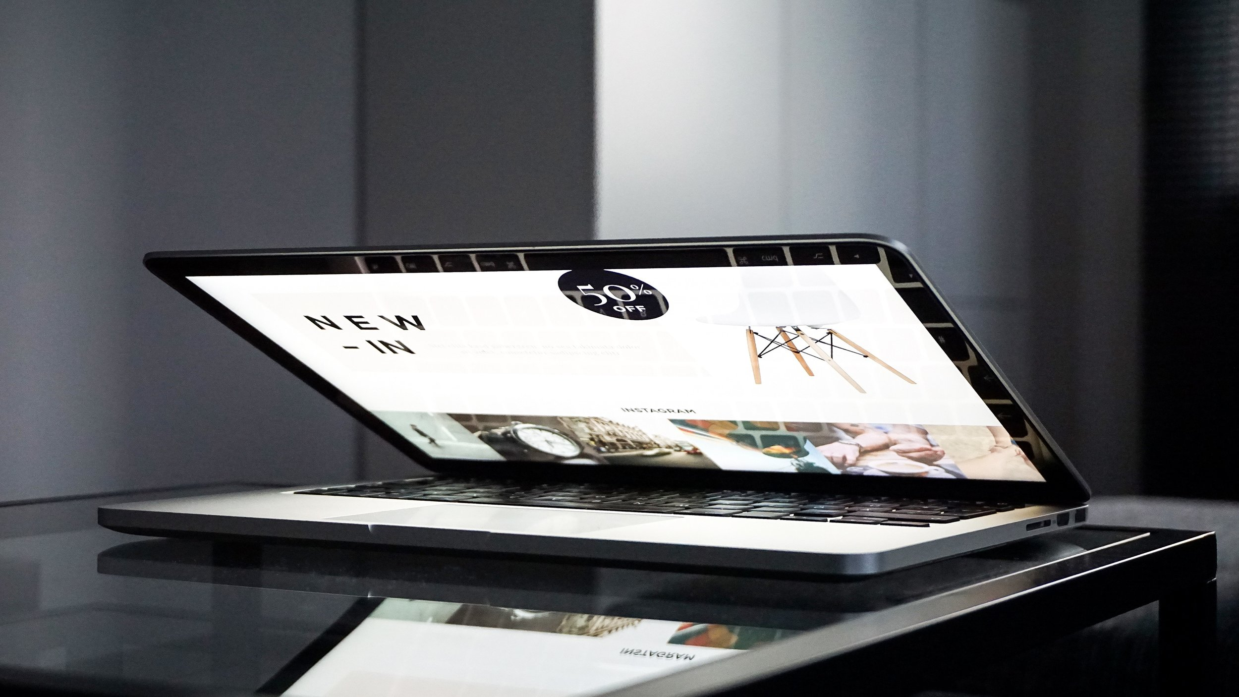 WEBSITE DESIGN - A great looking, modern website is essential to any new business in today's marketplace.