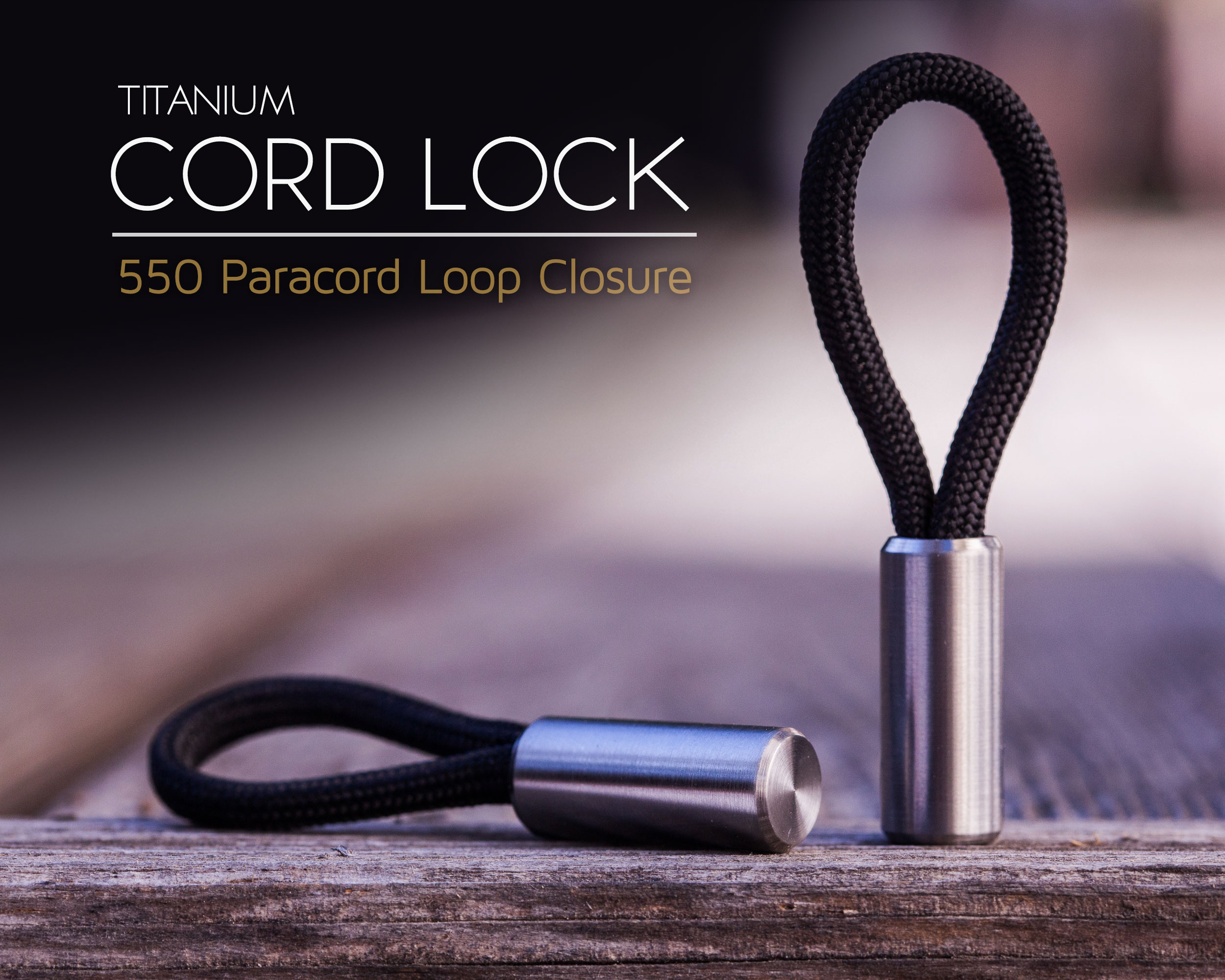 Blank Forces Paracord Lock
