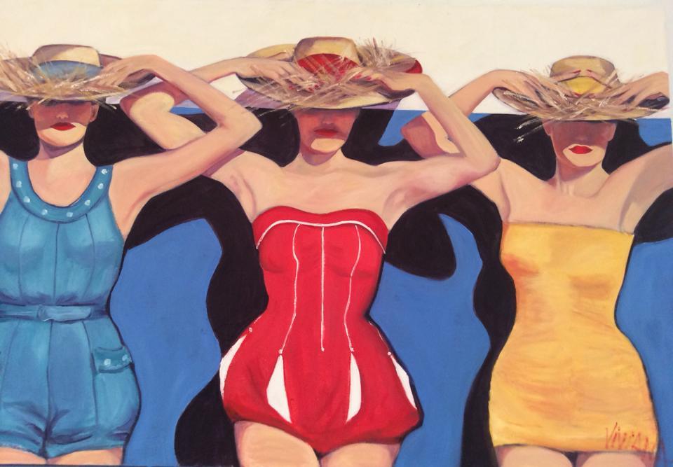 Painting by  Viviana Stone.