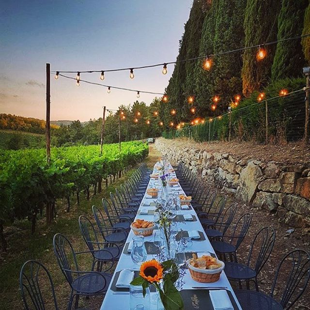 Wine and dining Italian style 🇮🇹 #Italy #winery #vineyard #wineanddine #gratitude #views
